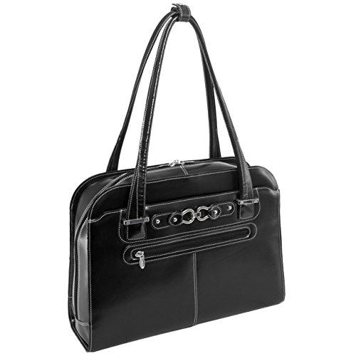 Mcklein USA 96635 Oak Grove , 15.4'' Leather Checkpoint Friendly Ladies Laptop Briefcase by McKleinUSA