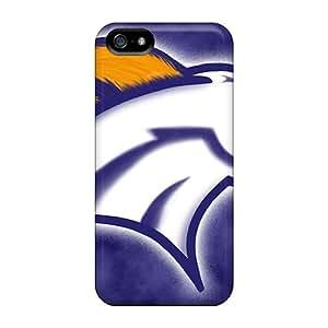 LHolme Iphone 5/5s Hybrid Tpu Case Cover Silicon Bumper Denver Broncos