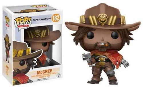 Funko POP Games: Overwatch McCree Toy Figures (Best Platform For Overwatch)