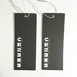 Vinaka Super Flat Les Lesbian Tomboy Short Vest Chest Binder Tops (Large, Black)