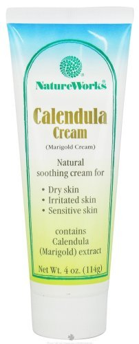 - NatureWorks Calendula Cream (Marigold) 4 Ounces ( 5 Pack )