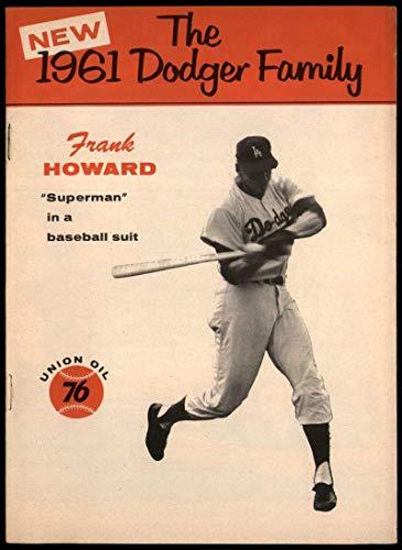 Baseball MLB 1961 Union Oil Family Booklets #10 Frank Howard