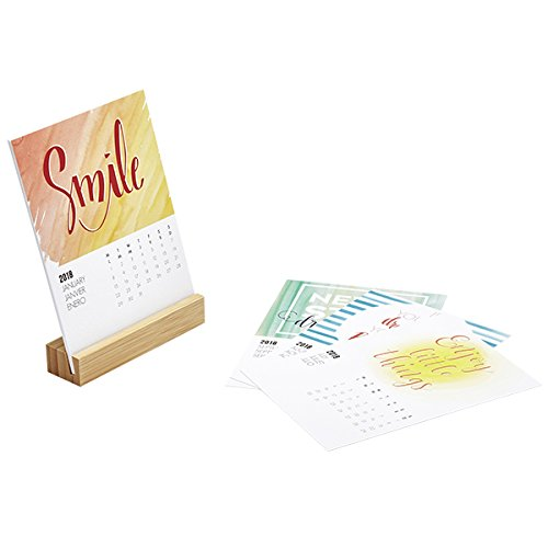Amazon.com : Nouvelles Images Desk Calendar Base Colours ...