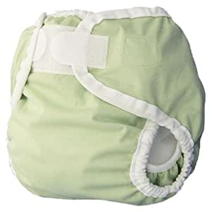 Thirsties Diaper Cover, Celery, X-Small (6-12 lbs) (Discontinued by Manufacturer)