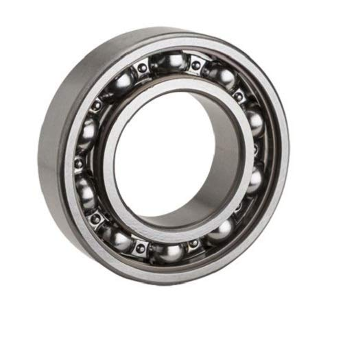 Single Seal 12 mm Width Open One Side Normal Clearance NTN Bearing 6203LU Single Row Deep Groove Radial Ball Bearing 40 mm OD Steel Cage 17 mm Bore ID Contact