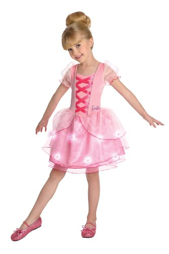 Barbie Costume For Kids (Barbie Ballerina Costume, Medium)