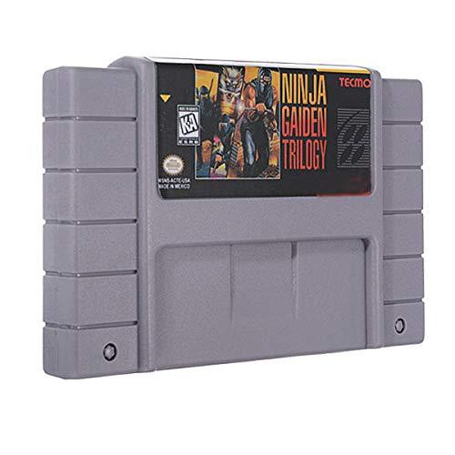 Amazon.com: MITUHAKI Ninja Gaiden Trilogy 16 Bit 46 Pin Game ...
