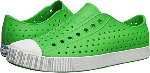 Native Shoes Jefferson Water Shoe Grasshopper Green/Shell White 9 Men's M US