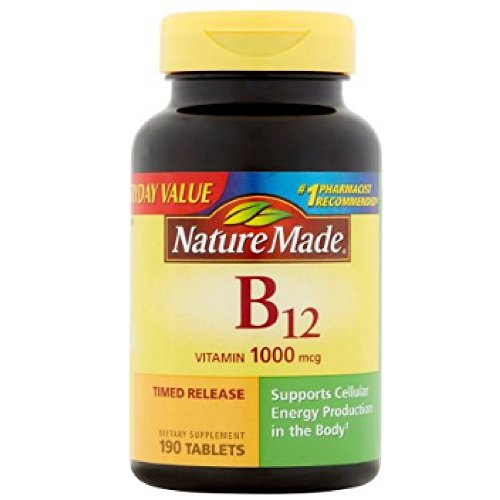 Nature Made Nature Made Vitamin B-12, 75 tabs 1000 mcg