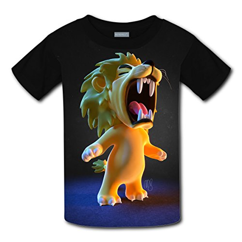 Cotton New Fashion T-Shirts 3D Design With Cry Out For Boys Girls M