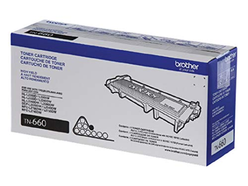 ~Brand New Original BROTHER TN660 Laser Toner Cartridge Black High Yield