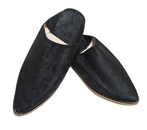 Da Modello Donna Accessoires Pantofole Colore Royal Marocchino Marrakech Stile Nero Saharashop wq0g8Cx