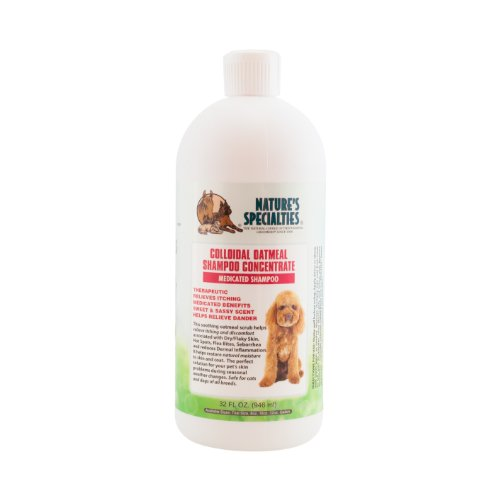 Nature's Specialties Colloidal Oatmeal Pet Shampoo, 32-Ounce (Colloidal Oatmeal Shampoo)