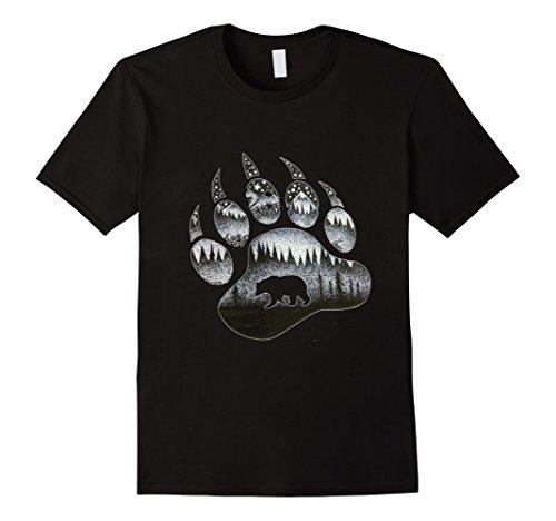 - Touching Ghost of the Spirit Bear Paw T Shirt