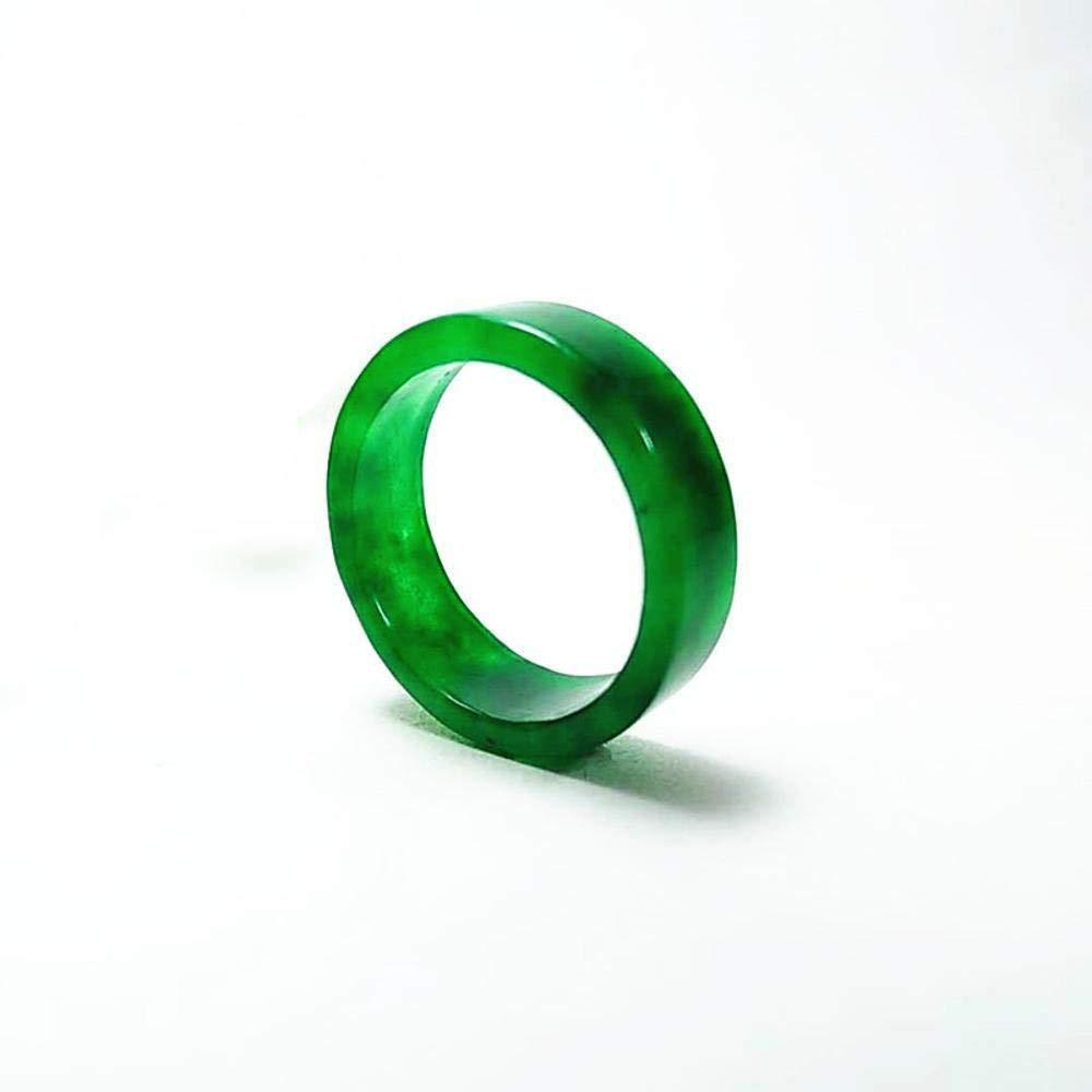 Zhiming Amoureux de l'Anneau de Jade Complet Vert Jade Anneaux Empereur Vert Jade