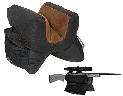 Atac Pro Ultimate Unfilled Shooter's Gun Rest Sand Bag Shooting Bench (Pro Shooters Bag)