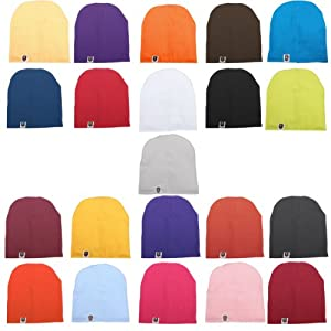 Unisex Cotton Beanie Hat for Cute Baby Boy/Girl Soft Toddler Infant Cap 21 Color