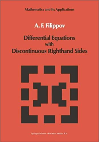 Book Differential Equations with Discontinuous Righthand Sides: Control Systems (Mathematics and its Applications)