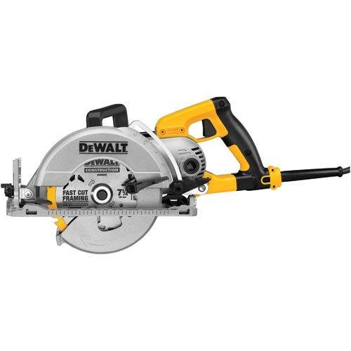 DEWALT DWS535T 7-1/4-Inch Worm Drive Circular Saw with Twistlock Plug