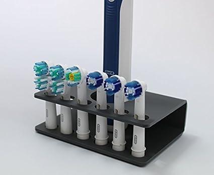 Soporte de cabezal de cepillo de dientes eléctrico soporte para 6 x Cabeza De Cepillo (