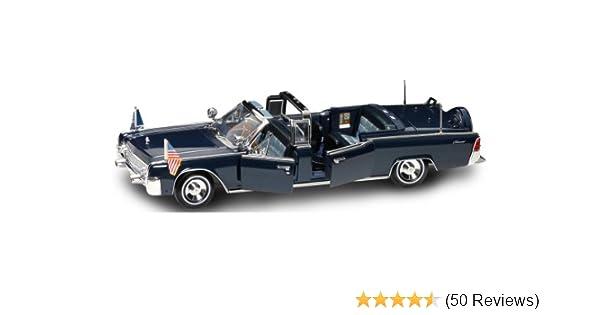 Kennedy 1961 Presidential Series 1:24 Model Lincoln X 100 JFK J.F