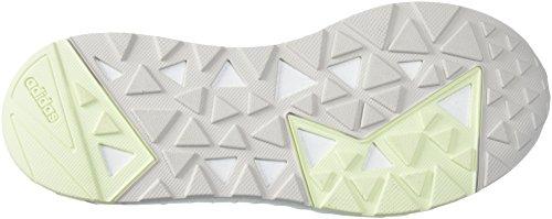 Adidas Neo Women's Questar BYD W, Grey One/White/Aero Green, 7.5 M US
