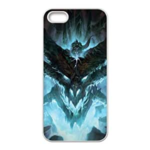 iPhone 5 5s Cell Phone Case White world of warcraft Popular games image WOK1022218