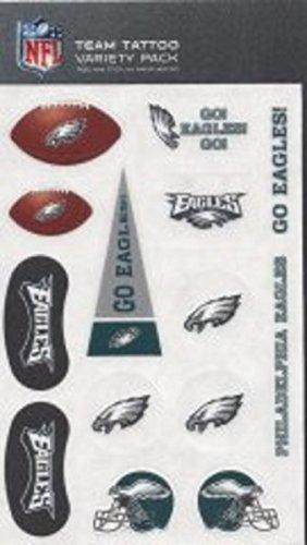 Rico NFL Philadelphia Eagles Tattoo Variety Pack
