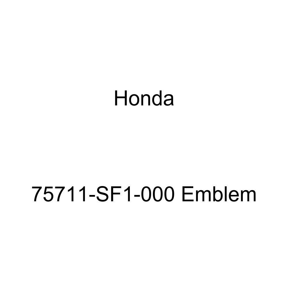 Genuine Honda 75711-SF1-000 Emblem