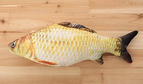 Throw Pillow Training (Pet Toy, Soft Plush Colored Fish Throw Pillow Waist Cushion Cute Sofa Bed Decor Gift)