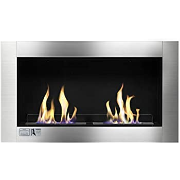 Amazon Com Ignis Magnum Wall Mount Ethanol Fireplace
