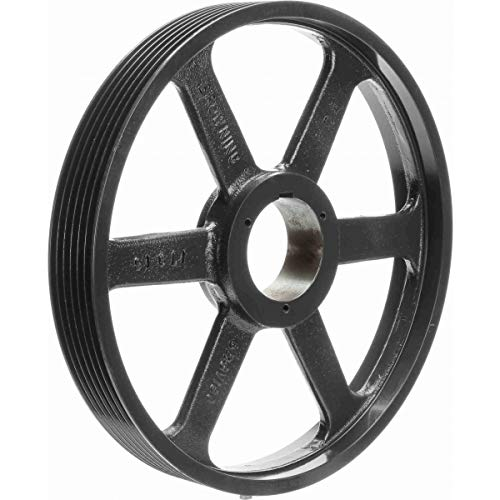 Uses R1 Bushing Browning 5R3V190 Split Taper Sheave 5 Groove 3V Belt Cast Iron