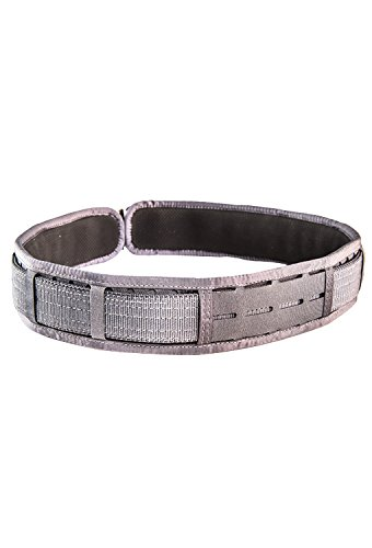 High Speed Gear Laser Duty Grip Padded Belt (Wolf Grey, MD (37