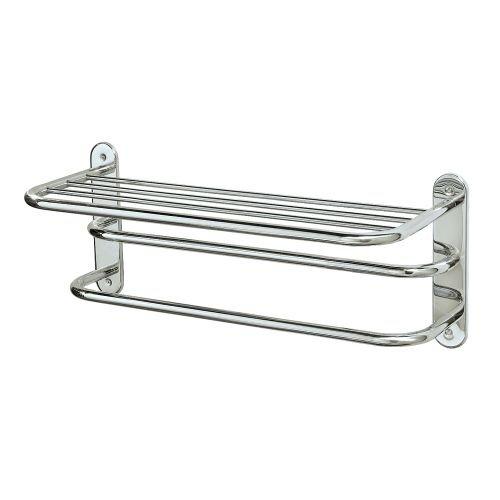 Gatco 1534 10-1/2-Inch by 26-1/2-Inch Towel Rack, Chrome by Gatco