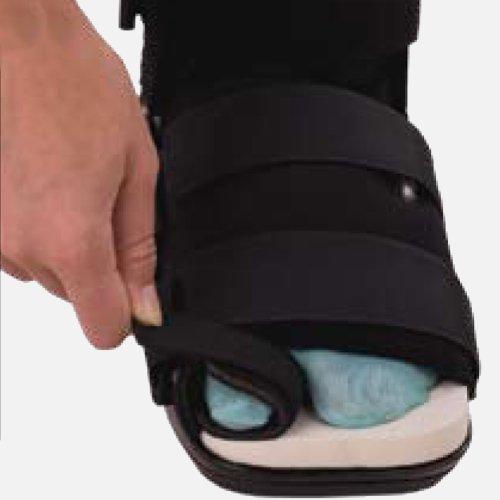 Bledsoe Bunion Walker Cam Boot, Air Ankle/Heel Pad Medium