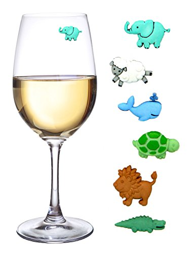 Baby Shower Wine Charms Magnetic product image