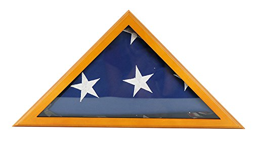 5x9 burial flag display case - 6