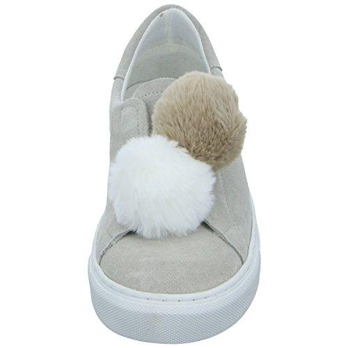 Tamaris Dames Sneaker Beige 23734 (grijs)