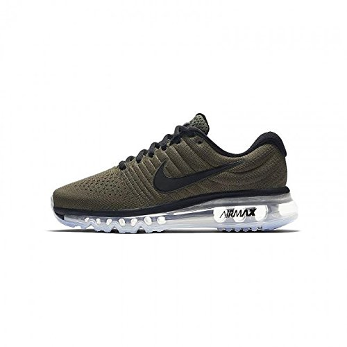 Nike Air Max 2017 (GS) Running Shoes, Child, Green