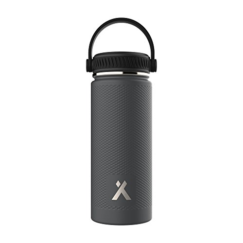 Bear Grylls Triple Wall Vacuum Insulated Water Bottle for 12 Hours Hot | 24 Hours Cold, BPA Free