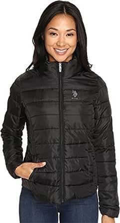 U.S. Polo Assn. Junioru0026#39;s Puffer Jacket At Amazon Womenu0026#39;s Coats Shop