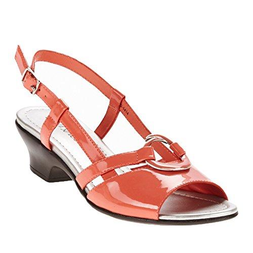 Easy Street Tempe vestido sandalias de la mujer Coral