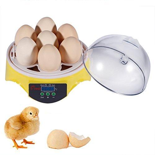 Automatic Digital Temperature Incubator Bird 7 Egg Incubator - 2