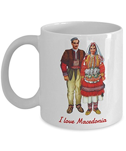 Macedonian Folk Costumes (Macedonian Heritage - Macedonian Folk Costumes - Coffee Mug)