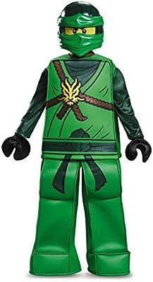 LEGO Ninjago JAY Blue Ninja Prestige HALLOWEEN COSTUME Youth Size SMALL 4//6