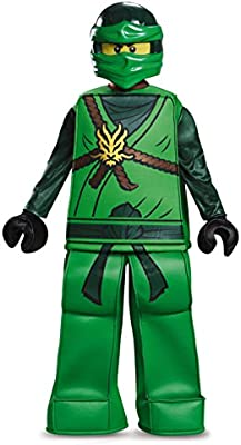 Disguise Lloyd Prestige Ninjago Lego Costume, Small/4-6