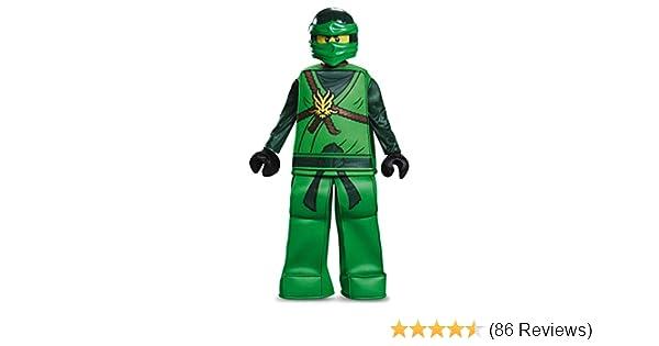 Disguise Lloyd Prestige Ninjago Lego Costume, Small/4-6