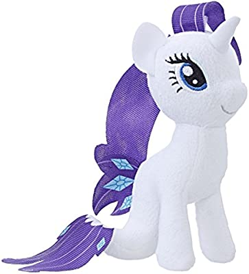 amazon com my little pony the movie rarity sea pony small plush