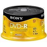 Son50Dmr47Rs4Us Disc Dvd R 50Pk Spndl