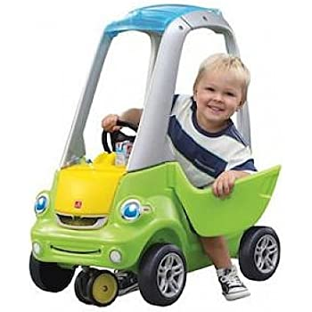 Amazon Com Step2 Easy Turn Coupe Ride On Car For Kids